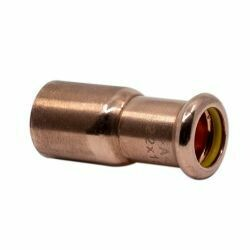 Copper Gas Press Fitting 35 x 22mm Fitting Reducer
