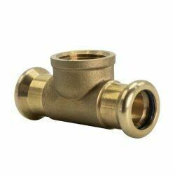 """Copper Press-Fit 15 x 15 x RP 1/2"""" CxCxFi Branch Tee"""