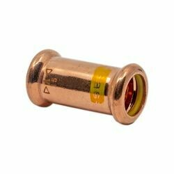 Copper Gas Press-Fit 22mm Coupler