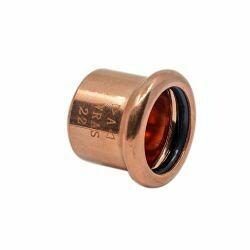 Copper Press-Fit Cap End 28mm
