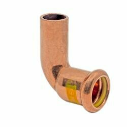 Copper Gas Press-Fit 28mm 90° Street Elbow