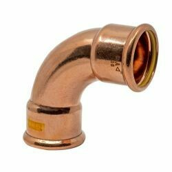 Copper Gas Press-Fit 35mm Elbow