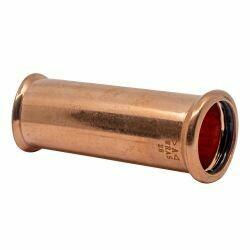 Copper Press-Fit 42mm Slip Coupler