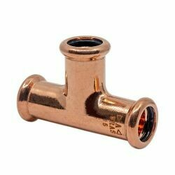 Copper Press-Fit 42mm Equal Tee