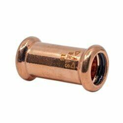 Copper Press-Fit 54mm Coupler
