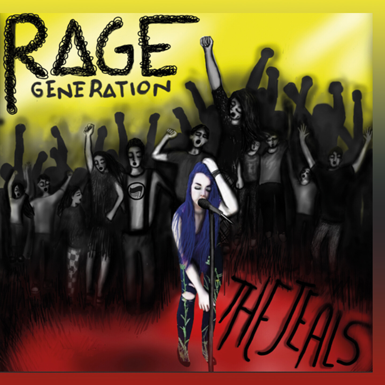 "THE JEALS / CD-Album ""Rage Generation"""