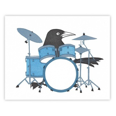 BB drumkit print