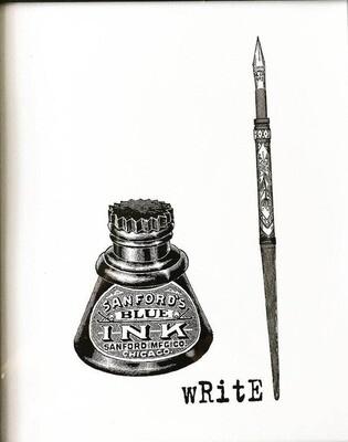 Creative Pen print