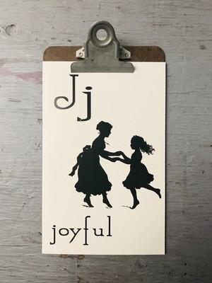 Joyful Flashcard