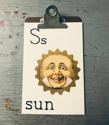 Sun Flashcard