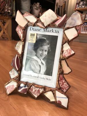 DM 4x6 pink ceramic frame