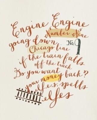 JD engine engine print