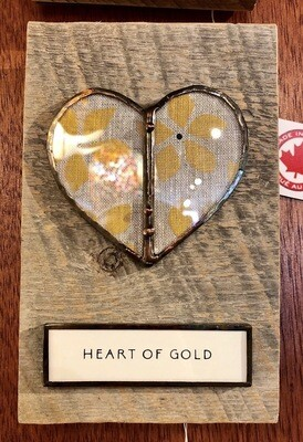 BIB heart of gold 6x7