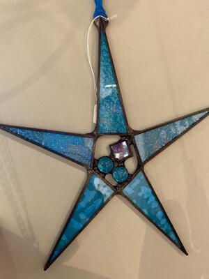 BIB Star Ornament Teal