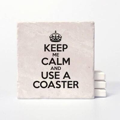 Vers Keep Calm Coasters