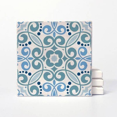 Vers Blue Bliss coasters