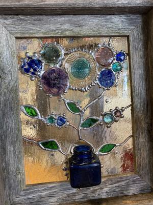 SG  sm window frame Blue