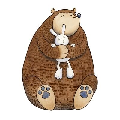 SL Bear Hug 8x10