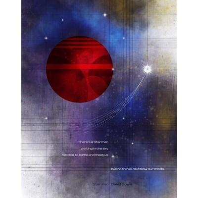 LSG David Bowie 8x10