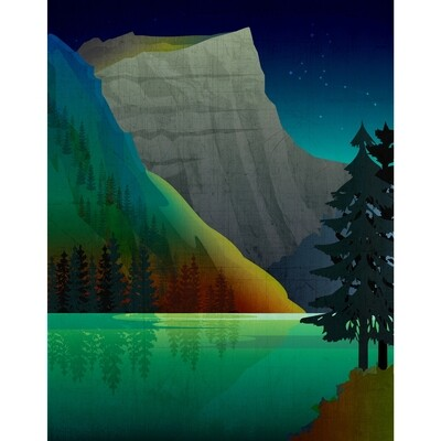 LSG Great Emerald Lake 8x10