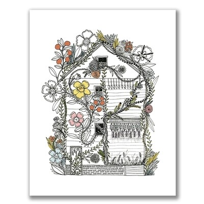 SGF flower house 11x14