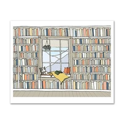 SGF window seat library 11x14