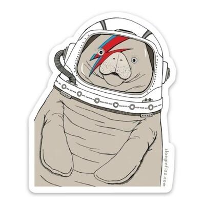 SGF space manatee sticker
