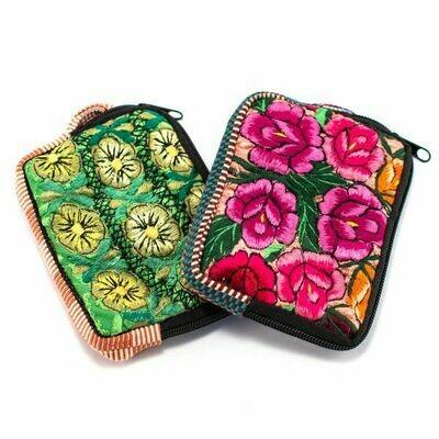 LUC floral wallet