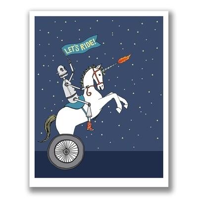 SGF robot unicorn 5x7