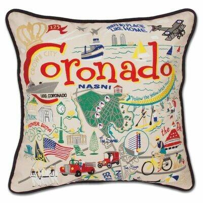 Coronado Embroidered Pillow