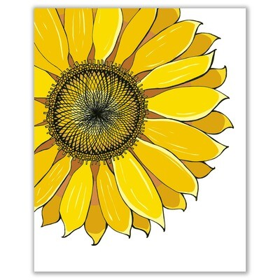 SGF Sunflower print - 8x10