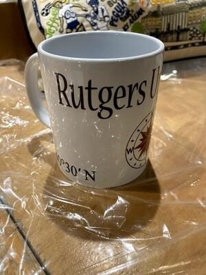 AGFJ Rutgers New Brunswick Mug