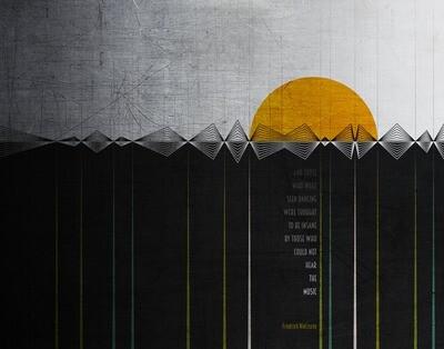 Friedrich Nietzsche - Dance - 8x10