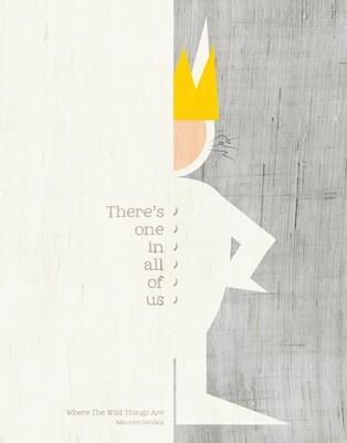 Maurice Sendak - Where The Wild Things Are - 8x10
