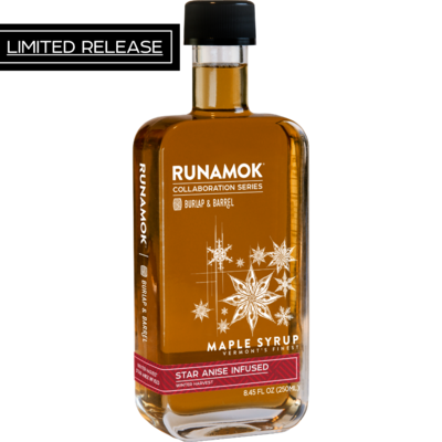 *LIMITED RELEASE Winter Harvest Star Anise Maple Syrup 250ml