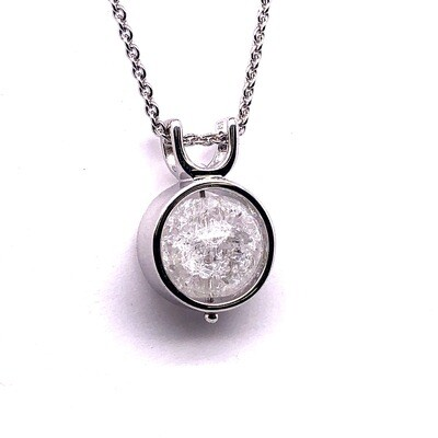 002 Quartz Crystal Stone Pendant