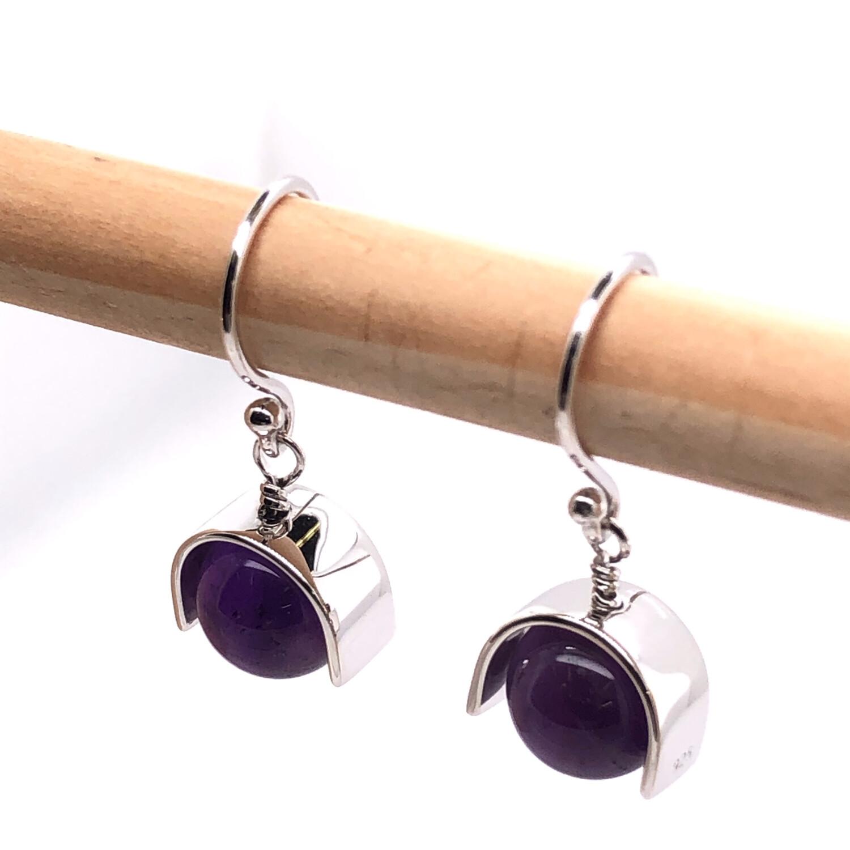 001 Amethyst Earrings
