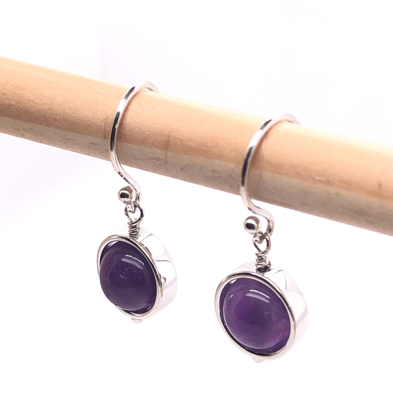 002 Amethyst Earrings