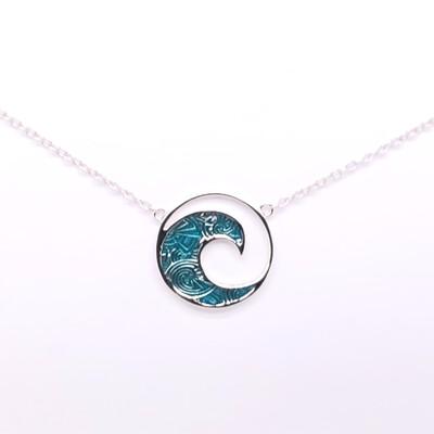 006 Blue Wave Necklace