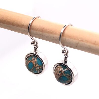 002 Jasper Earrings