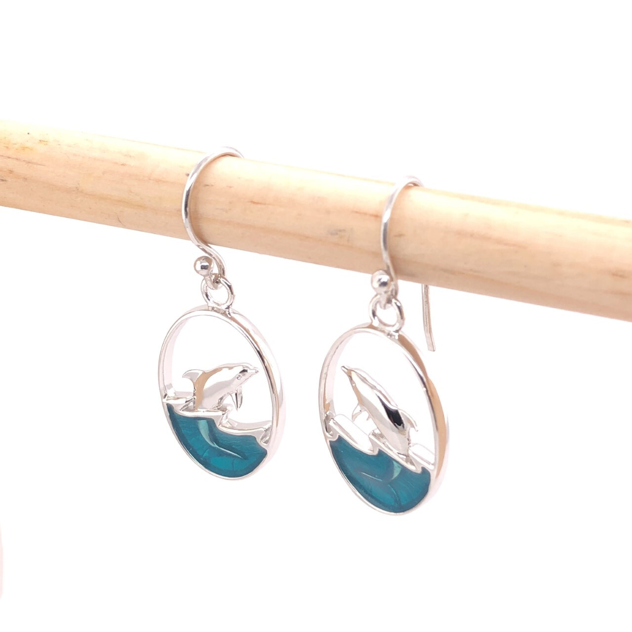 004 Leaping Dolphin Earrings