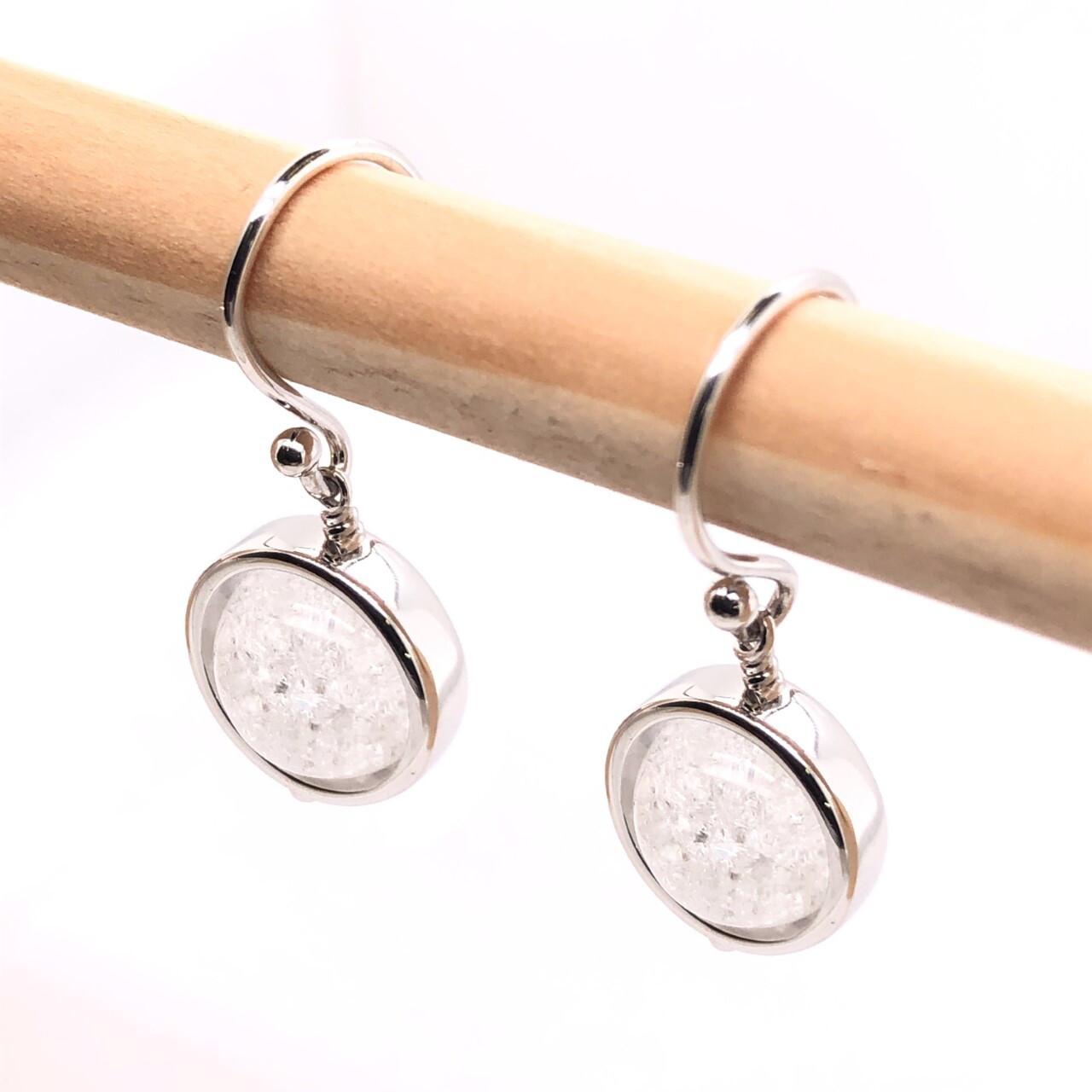 002 Quartz Crystal Earrings