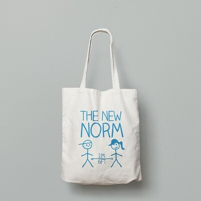 THE NEW NORM (2m/6ft)  - TOTE BAG