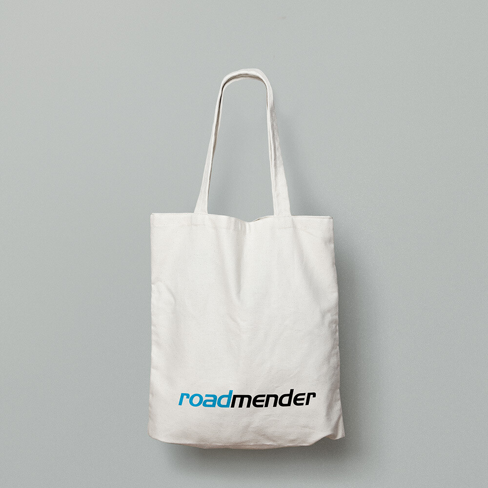 ROADMENDER LOGO TOTE BAG