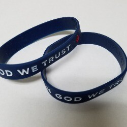 In God We Trust Wrist Bands-Set of 2