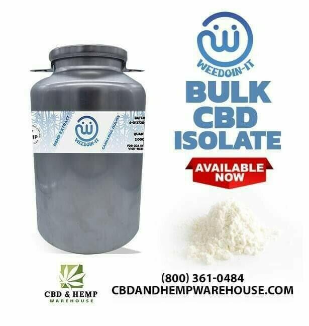 Bulk CBD Isolate
