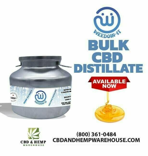 Bulk CBD Distilate