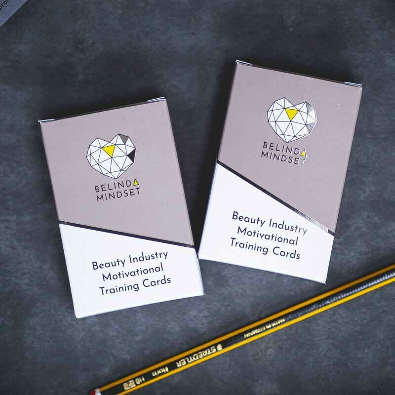 Pack 1 & 2   Beauty Industry Motivational Training Cards