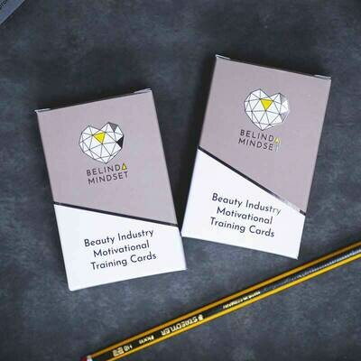 Pack 1 & 2 | Beauty Industry Motivational Training Cards