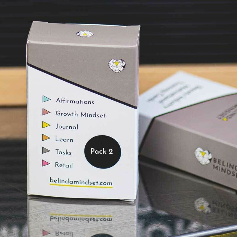 Pack 2   Beauty Industry Motivational Training Cards